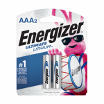 """2-Pack """"AAA"""" 1.5V Lithium Batteries"""