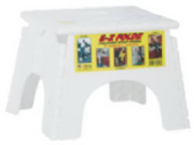 Fantastic Details About B R Plastics White E Z Fold Stepstool 101 6 Squirreltailoven Fun Painted Chair Ideas Images Squirreltailovenorg