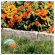 12-In. Border Stone-Like Edging, 10-Pk.