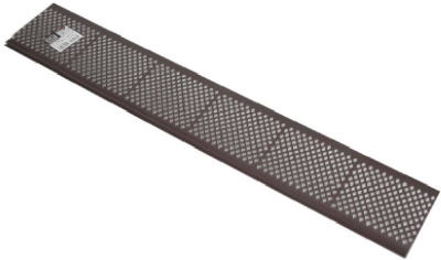 Amerimax Brown Plastic Snap In Gutter Guard 3 Ft 85379
