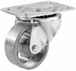 3-Inch Cast Iron Swivel Plate Caster