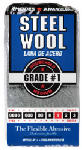 Steel Wool Pads, #1 Medium, 12-Pk., Must Purchase in Quantities of 6