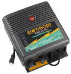 Electric Fence Charger, 600-Acre, Low Impedance, Plug-In, 110-Volt