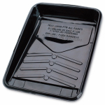 SHUR-LINE BL50262 Shallow Plastic Paint Tray Liner For Metal Tray, Use With