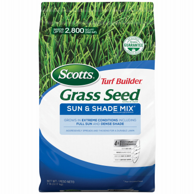 7LB Sun/Shad Grass Seed - Woods Hardware