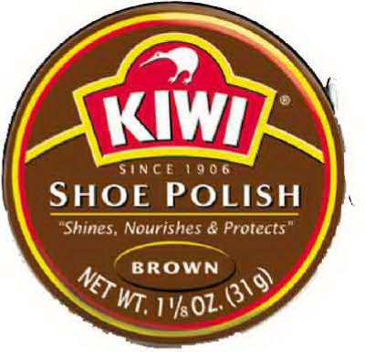 1-1/8OZ BRN Shoe Paste