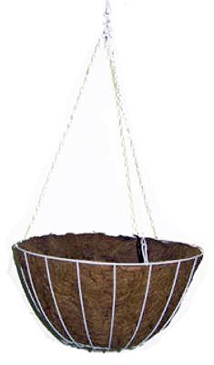 "12"" WHT Growers Basket"