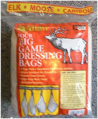 4PK Elk Quartering Bag
