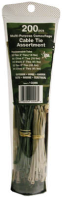 200PK BLK Cable Tie - Woods Hardware