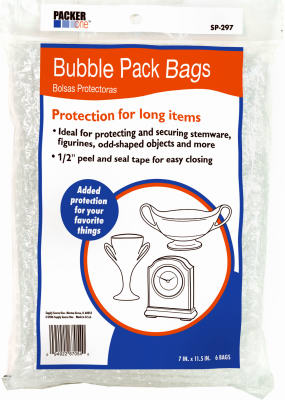 6PK 7.25x11 Bubble Bag