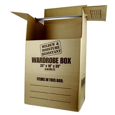 24x21x46 Wardrobe Box