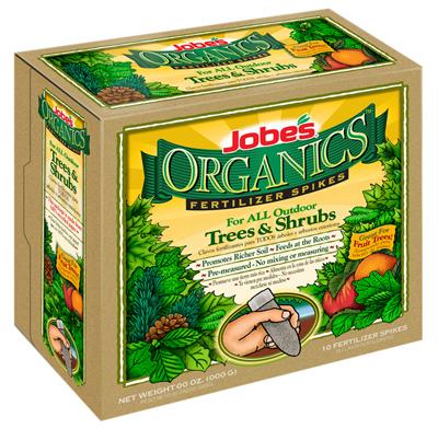 10PK Organic Tree Spike