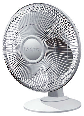 "12"" Osc Table Fan"