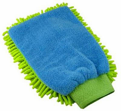 Clean Shag Duster Mitt