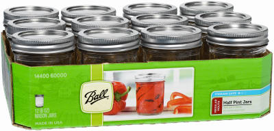 Ball 12PK 1/2PT Mas Jar