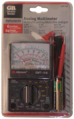 14 Range Analog Meter