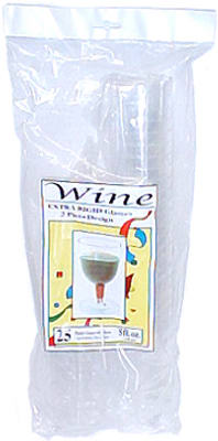 25CT 5OZ 2PC Wine Glass