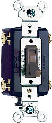 15A BRN GRND 4WY Switch - Woods Hardware