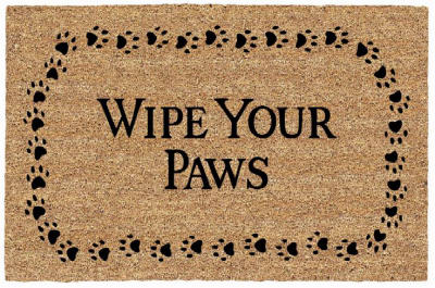 18x30 Wipe Paws DR Mat - Woods Hardware