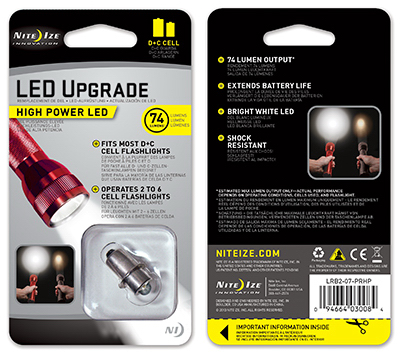 1W LED Upgrade Bulb