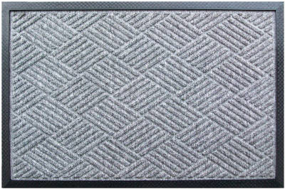 18x30 Grey Poly DR Mat - Woods Hardware