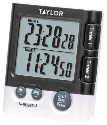 Dual DGTL Timer/Clock - Woods Hardware
