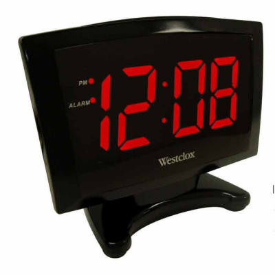 "1.8"" Plasma Alarm Clock"