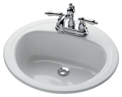 Azal 20x17 WHT Lav Sink