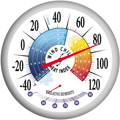 """""""13.37"""""""" Bold Thermometer"""" - Woods Hardware"""