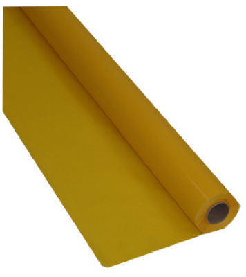 100YEL Plas Table Roll