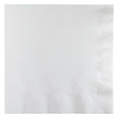 50CT WHT Lunch Napkin
