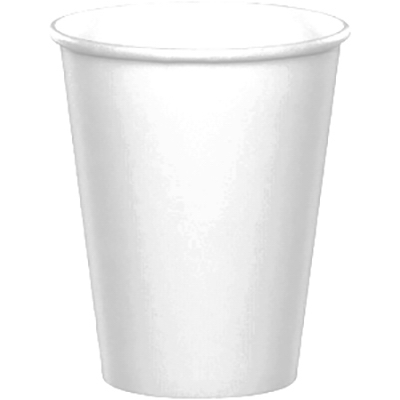 24CT 9OZ WHT Paper Cup