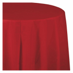 "CREATIVE CONVERTING 011031 54"" x 108"", Classic Red, Plastic Table Cover, Covers An"