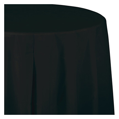14 BLK Table Skirt