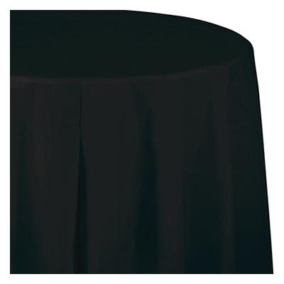 14%27 BLK Table Skirt