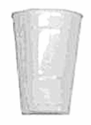 20CT 16OZ WHT Plas Cup