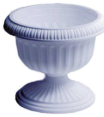 """12"""" WHT Grecian Urn"""