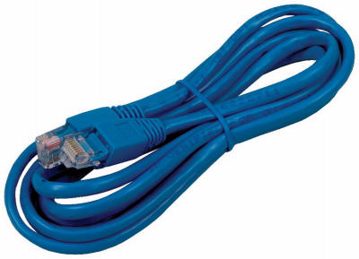 7' BLU Cat5 Cable - Woods Hardware