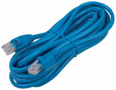14' BLU Cat5 Cable - Woods Hardware