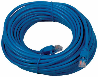 50' BLU Cat5 Cable - Woods Hardware
