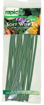 "8"" Soft Wire Tie Strips"