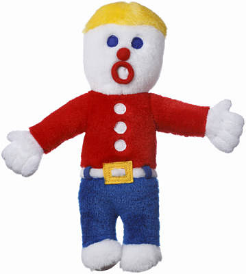 "10"" Mr Bill Dog Toy"