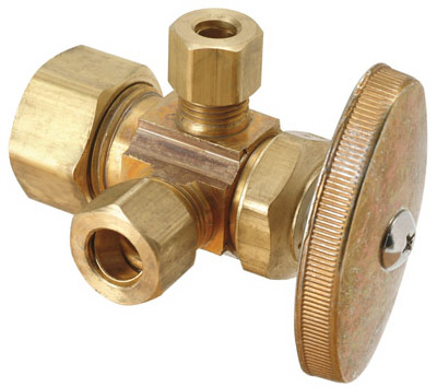 5/8x3/8 Dual Out Valve