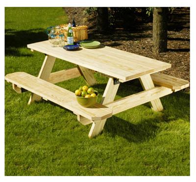 6 Picnic Table Kit