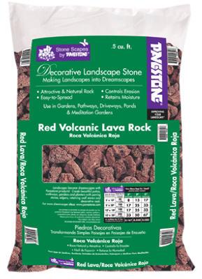 .5CUFT RED Vol Rock