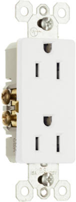 10PK15A WHT Deco Outlet