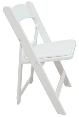 WHT Resin Fold Chair