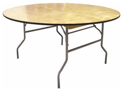 "60"" RND PlyWD Table"