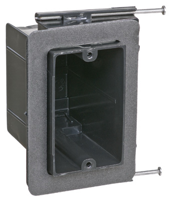 1G Elec Outlet Box