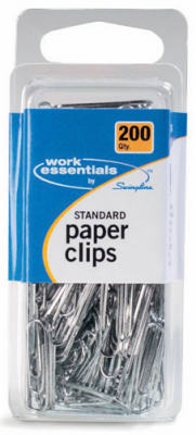 200CT STD Paper Clip - Woods Hardware